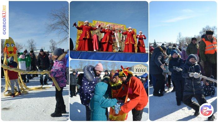 В Каменске-Уральском проводили Зиму