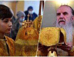 Владыка Мефодий совершил Литургию в неделю сыропустную