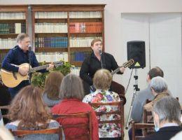 28 марта 2021 в  библиотеке Пушкина  собрались творческие люди Каменска-Уральского