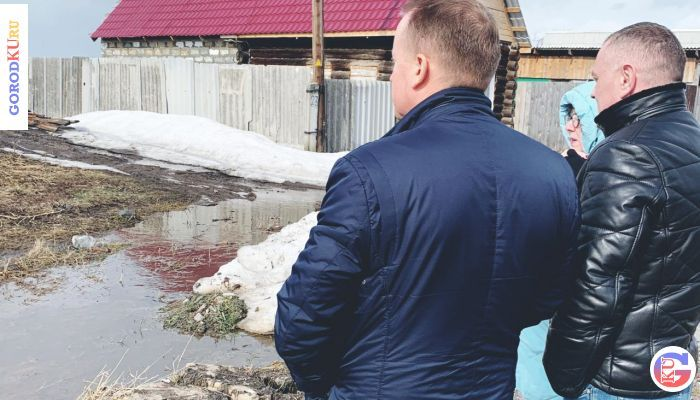 Восстановление водоснабжения в с. Маминское
