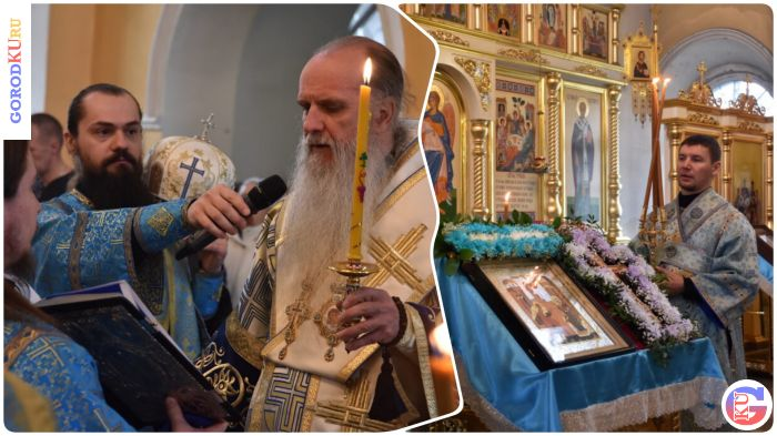 Всенощное бдение в канун Благовещения Пресвятой Богородицы в Каменске-Уральском