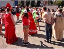 День славянской письменности и культуры прошел перед библиотекой № 13 в Каменске-Уральском