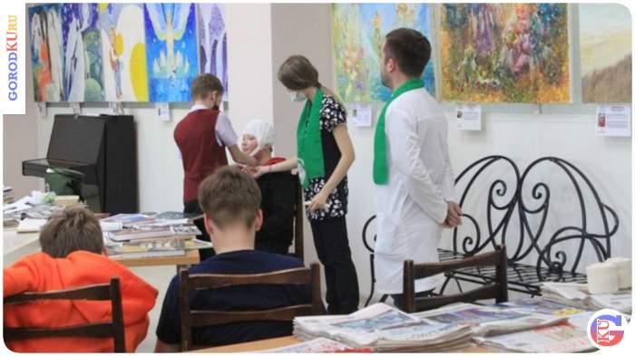 Экскурсия по книжной выставке о работе мед. сестер на войне