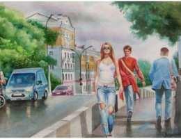 Начался приём работ на выставку «Портрет родного города II» в Каменске-Уральском