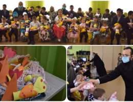 Радость на Пасху воспитанникам  социально-реабилитационного центра