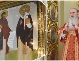 В день памяти св. Кирилла и Мефодия епископ Мефодий совершил Литургию в Каменске-Уральском
