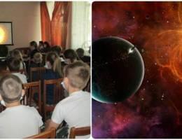 Ребята городского лагеря школы №19 участвовали в игровой программе о космосе