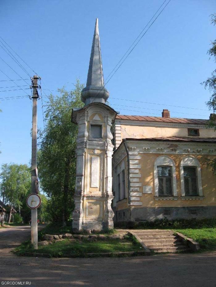 Вальский столп в Осташкове