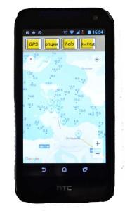 Карта глубин в naviGorodomlyru