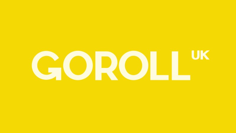 Goroll.uk logo motion
