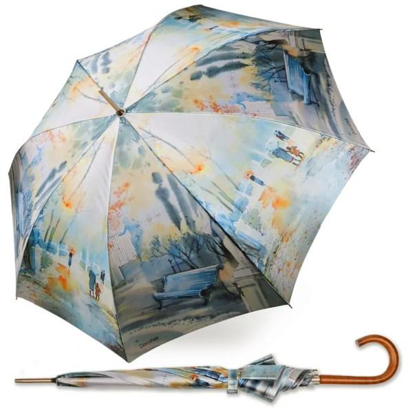 Зонт Женский Большой полуавтомат [618144-1]