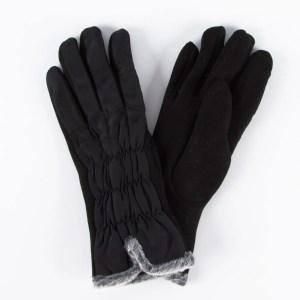 Перчатки женские цвет черный [LG17-01]