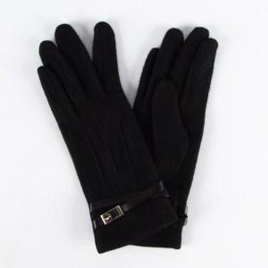 Перчатки женские цвет черный [LG57-01]