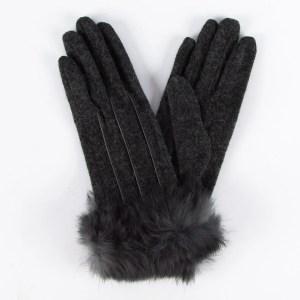 Перчатки женские цвет серый [LG63-08]