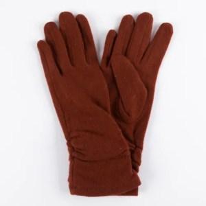Перчатки женские цвет коричневый [LG02-02]
