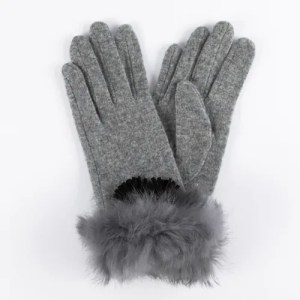 Перчатки женские цвет серый [LG05-08]