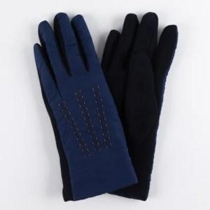 Перчатки женские цвет темно-синий [LG11-04]