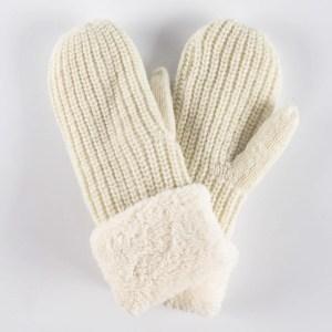 Перчатки женские цвет белый [VY14-11]
