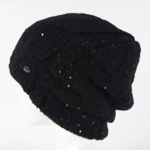 Вязаная шапка женская [WF25-01]