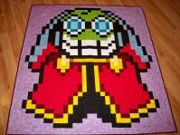 Fawful Mario Luigi RPG Mario Brothers Bowser Nintendo Video Games Geek Quilt Quilts blanket