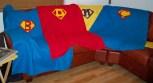 Super Hero Superhero Superheroes Super Man Superman Man of Steel Solids Applique letter fleece