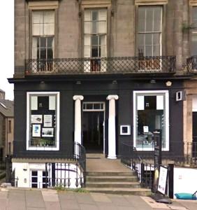 HiFi Corner Edinburgh store.