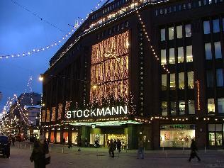 La obra más conocido de Sigurd Frosterus, el almacen de Stockmann