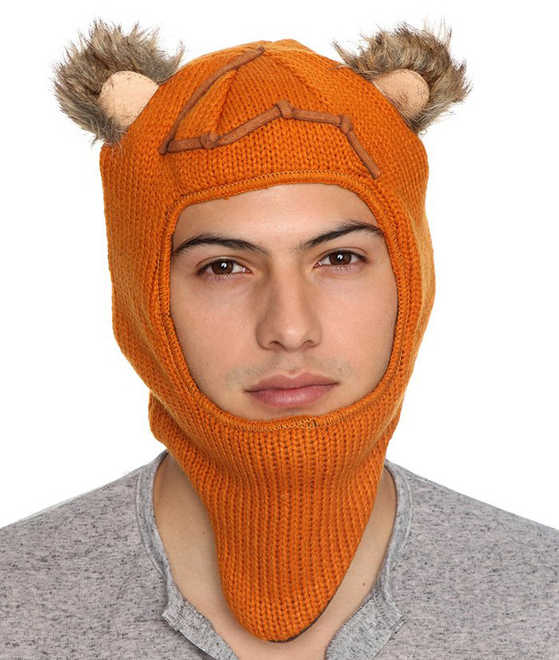 Ewok Hat: Gorros Tejidos Con Orejitas