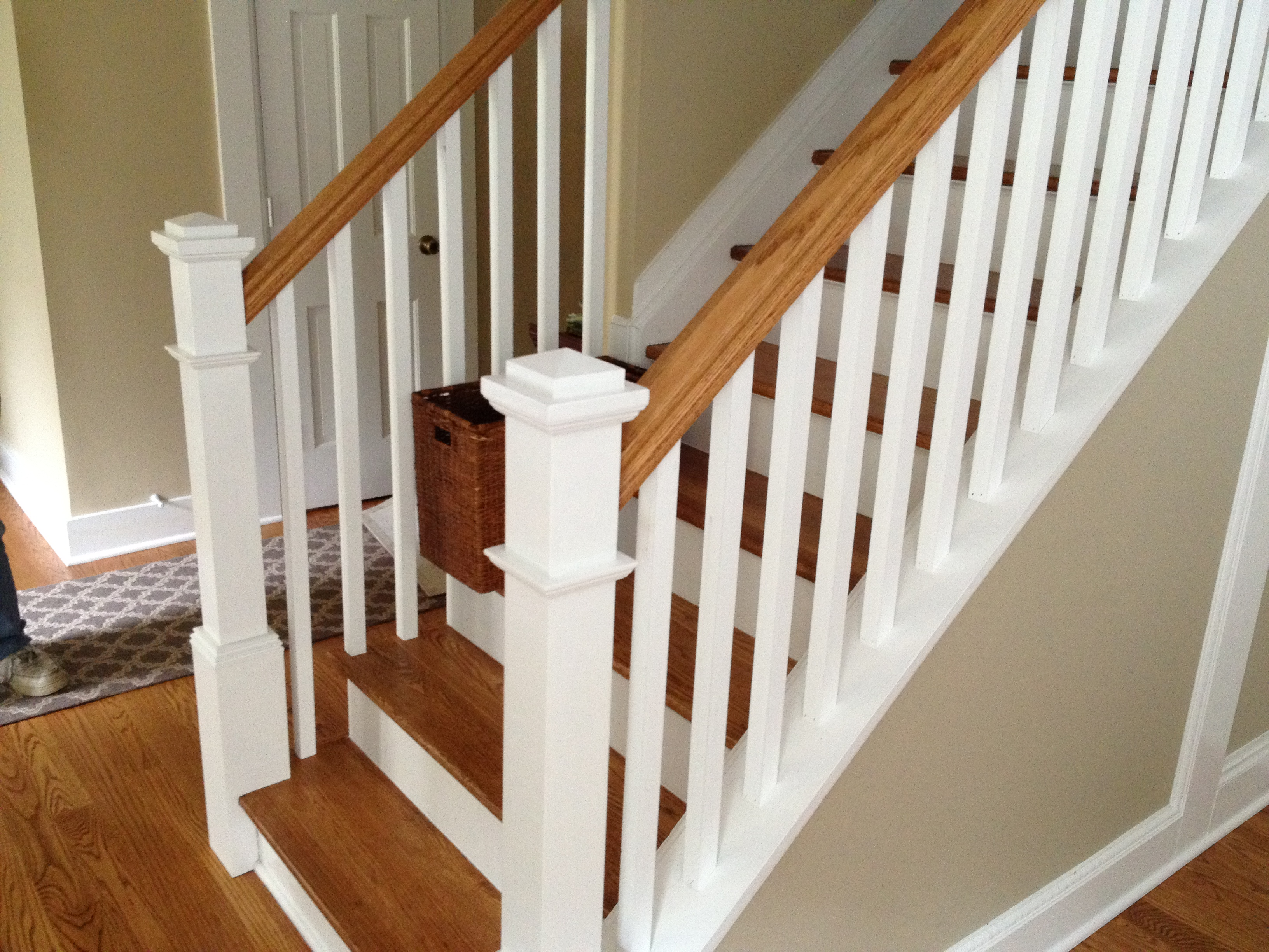 Stair And Rail System Installation
