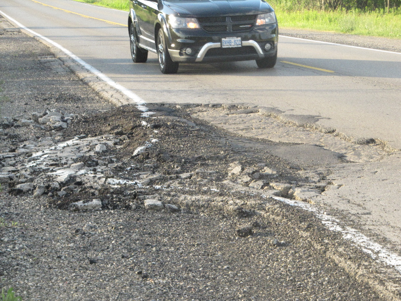 Road surface problems on Wonderland Road have prompted Gorski Consulting to conduct testing to determine the extent of the problem.
