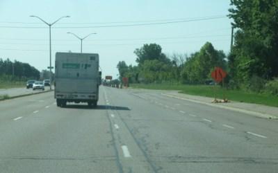 New Road Data From Testing On Veterans Memorial Parkway in London Ontario