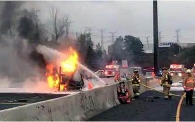 Highway 407 Tanker Truck Fire – Dashcam Analysis