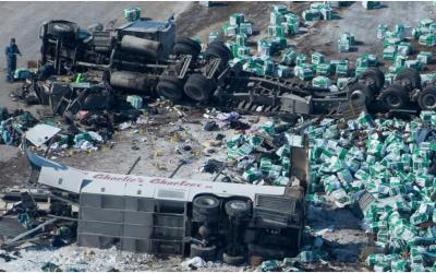 Humboldt Broncos Multi-Fatal Bus Crash Was Likely Influenced by Lack of Proper Intersection Visibility