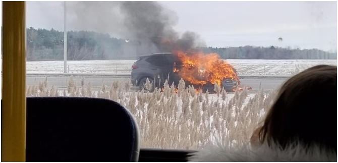 Vehicle Fires Continue to be Under Reported