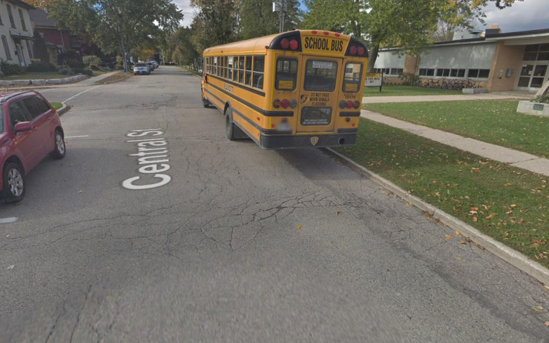 Pedestrian and Pole Impact in 40 km/h School Zone