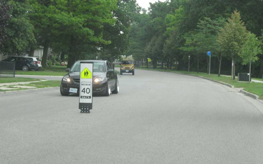 London Ontario Proposes 30 km/h Speeds in School Zones