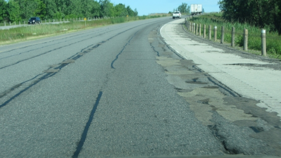 Highway 402 – Tables of Road Surface Condition Data Obtained From Testing on April 29, 2019