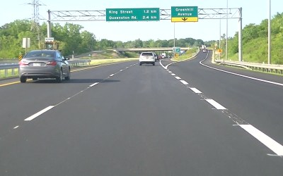 Evaluation of Collisions on Hamilton's Red Hill Valley Parkway