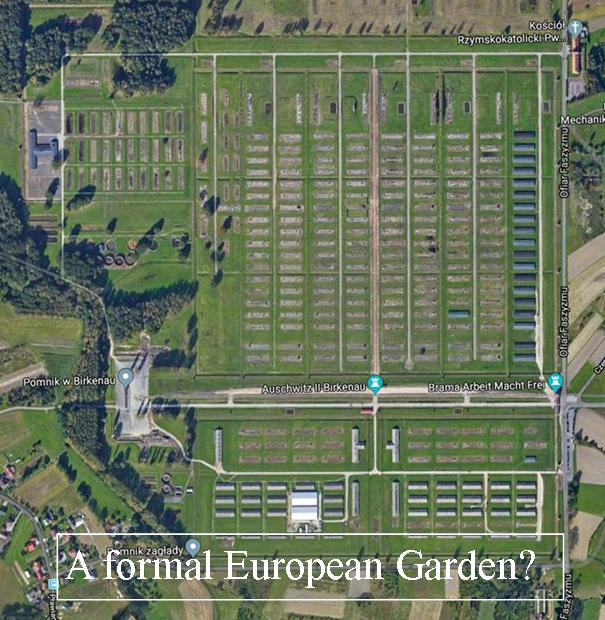 A Formal European Garden? What Do We Wish To See?