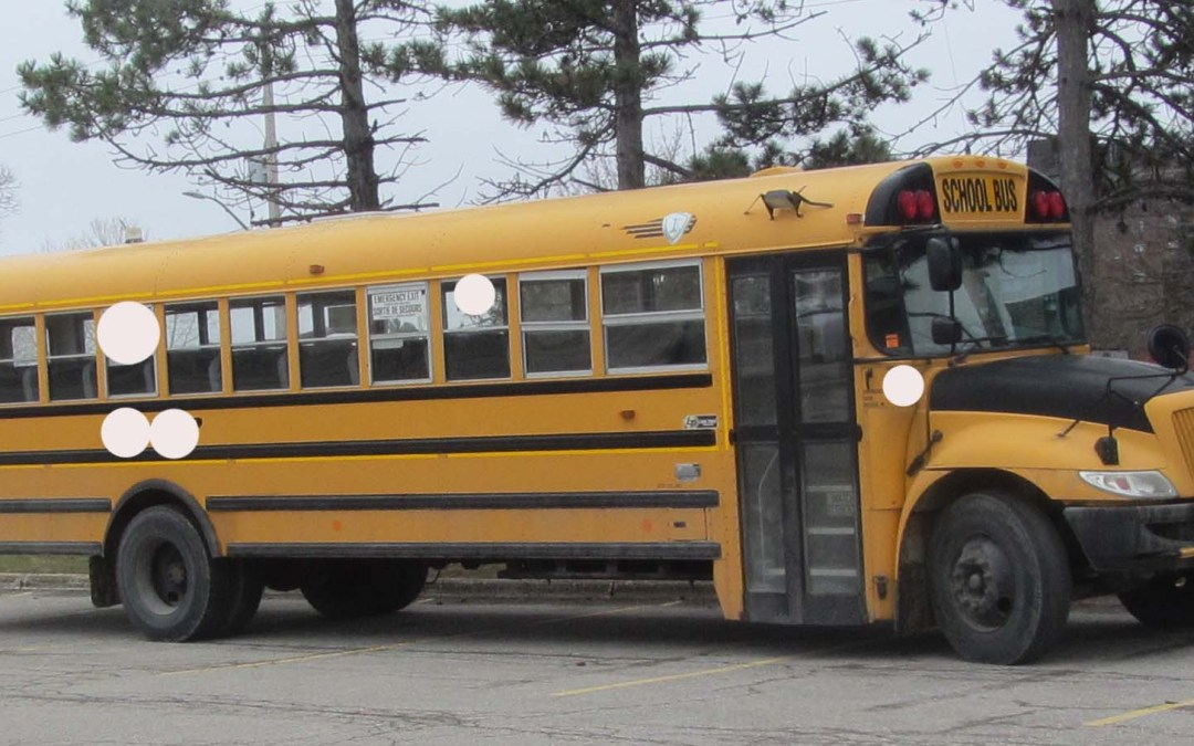 Preliminary Comparison of Full Size School Bus Motions To Other Vehicles