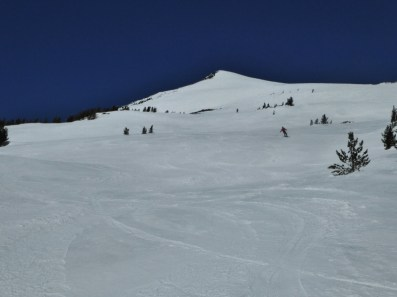 Mt Bachelor - the wonder of corn snow on Cow Face