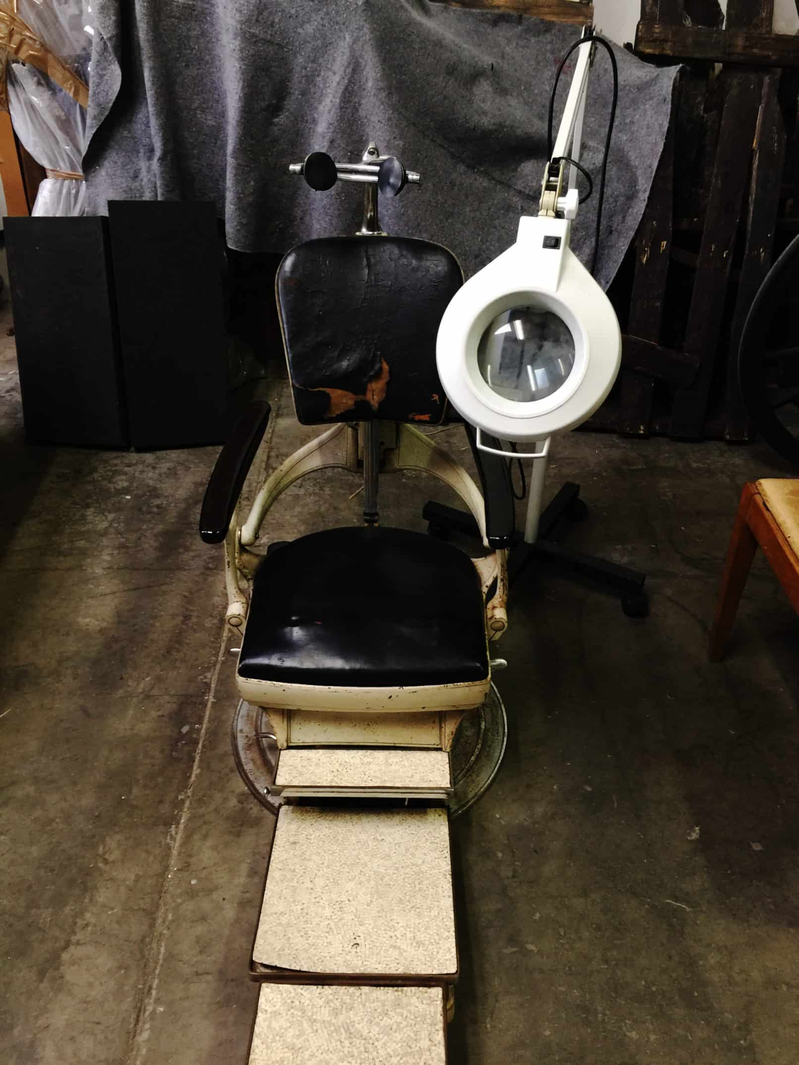 vintage dentist chair motorized pool 2018 gory girl