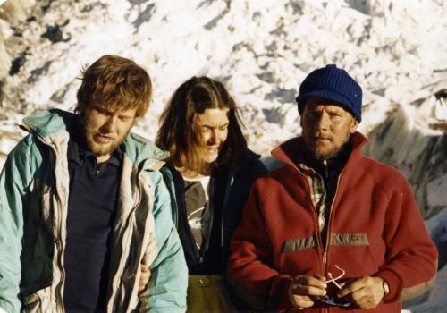 Artur Hajzer, Wanda Rutkiewicz i Jerzy Kukuczka, Annapurna 1987
