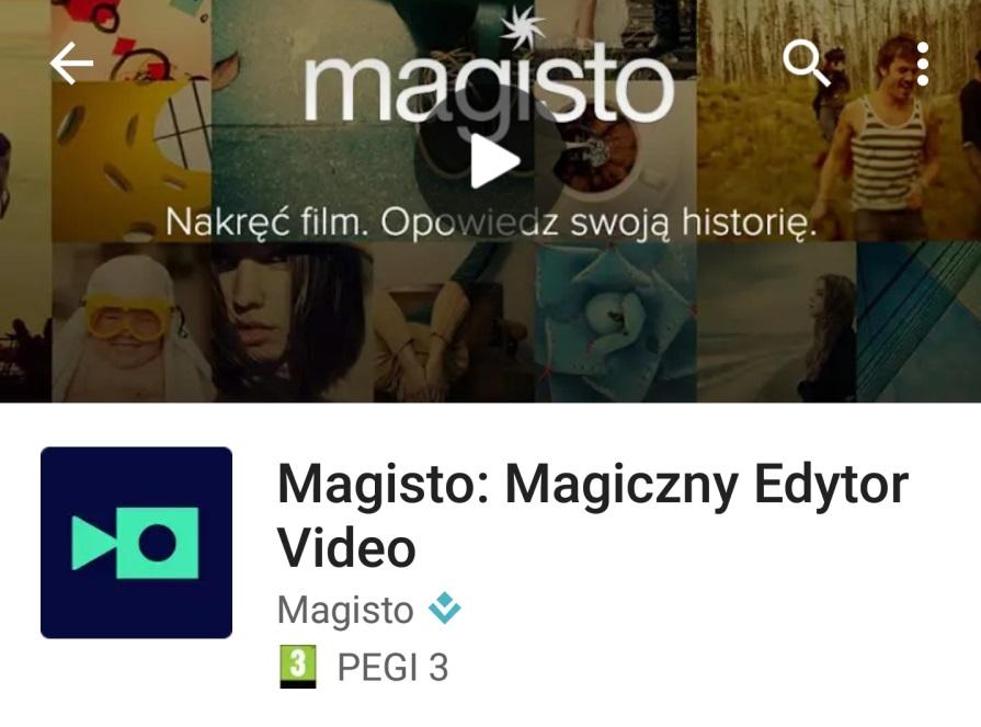 Magisto – Magiczny Edytor Video – ciekawa apka do wykorzystania