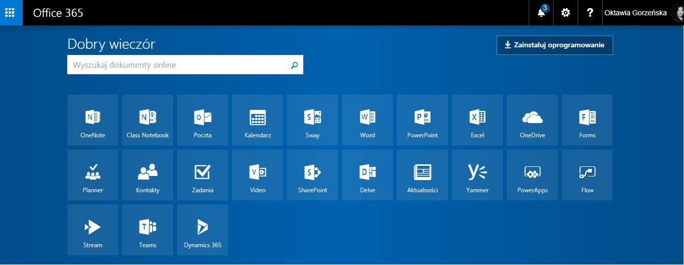 Szkoła w chmurze Microsoft – początki
