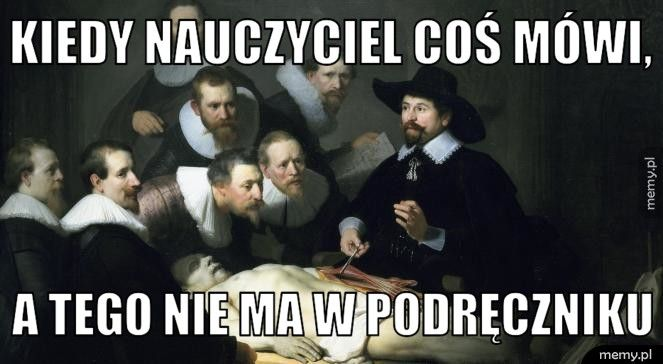 Memy z Rembrandtem i Beksińskim w tle – inspiracje