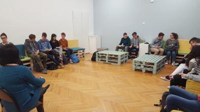 17LO w Gdyni - spotkanie dyrekcji z SU
