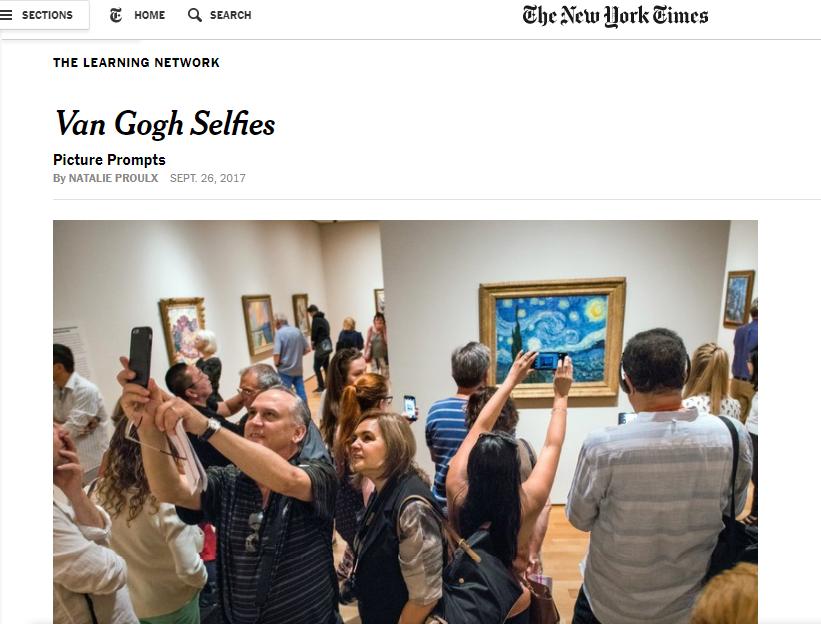 Fotoinspiracje dla edukacji – The New York Times Picture Prompts