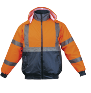 Hawk Jacket: Available in: Orange, Lime