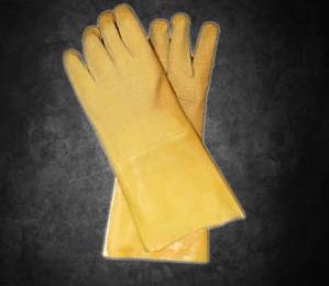 Yellow Crinkle Comarex 35cm GLATEX35